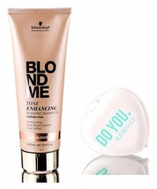 Schwarzkopf Pro BlondMe Tone Enhancing WARM BLONDE Bonding Shampoo, 8.4 ... - $28.06