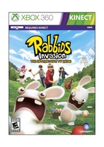 Rabbids Invasion Xbox 360 Disc Standard - $12.75