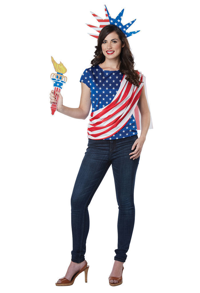 Primary image for California Costume Miss Independence USA America Womens Halloween costume 60685
