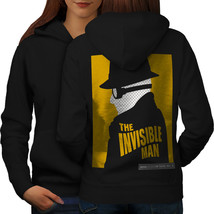 Invisible Man Fashion Sweatshirt Hoody Movie Poster Women Hoodie Back - $21.99+