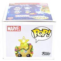 Funko Pop! Marvel Christmas Holiday Groot #530 Vinyl Bobble-Head image 6