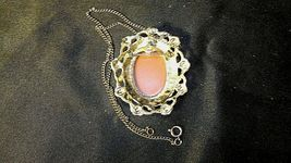 Cameo Necklace and/or Pin AB 123 Exquisite Vintage image 5