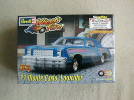 FACTORY SEALED Revell Snaptite '77 Monte Carlo Lowrider #85-1918 Wheels ... - $71.27