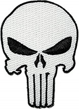 Marvel's PUNISHER Classic Skull Chest Embroidered PATCH - $13.30