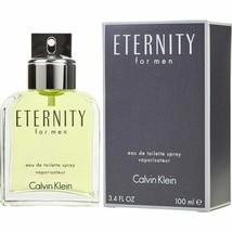 ETERNITY for Men by Calvin Klein Eau De Toilette Cologne 3.4 oz - New in... - $24.74