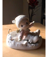 """1996 Precious Moments """"Angels On Earth"""" Figurine  - $28.00"""