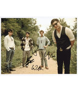 Mumford And Sons FULLY SIGNED Photo + COA Lifetime Guarantee - $169.99