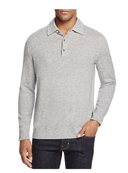 The Men's Store at Bloomingdale's Wool and Cashmere Blend Sweater, Size XXL,$198