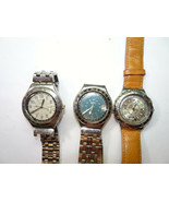 SWATCH SWISS METAL CASE SWATCH WATCHES FOR VINTAGE RESTORATION OR PARTS ... - $173.19