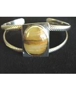 Shanrocks Sterling Silver Agate Cuff Bracelet  - $64.00