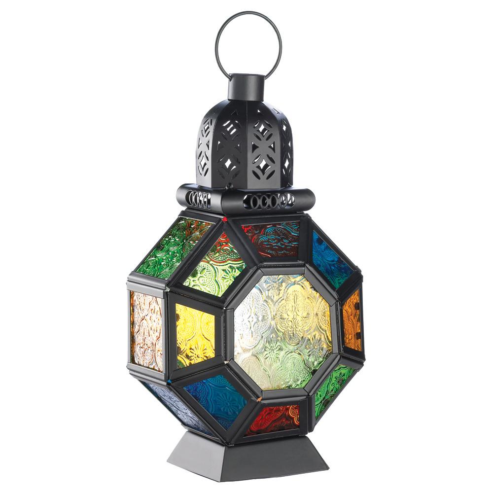 Rainbow Magic of The East Moroccan Marketplace Lantern