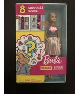 Barbie Doll with 2 Career Looks That Feature 8 Clothing and Accessory Su... - $19.99