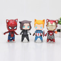 Avengers Cat figures action figurines MARVEL Superheroes CAT Version toy - $40.00