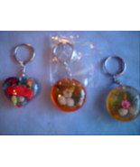 INSECT KEYCHAINS (Different Varieties) - $3.00