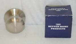 Better Home Products 52315SN Mushroom Knob Dummy Satin Nickel image 1