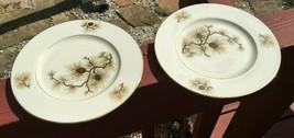 2  Vintage Lenox China Pine Salad Plate - $13.10