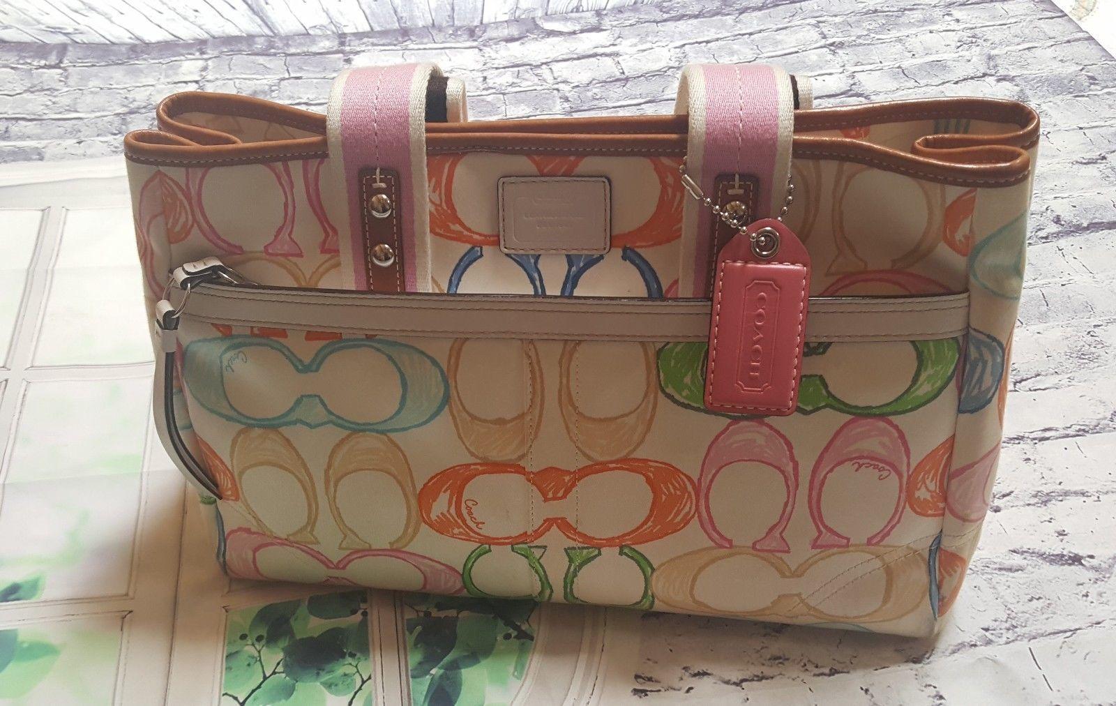 d59b5557dfb4d ... reusenation 89473 b0fc9 free shipping coach scribble hamptons 10674  tote handbag 69.99 923e0 47746 ...