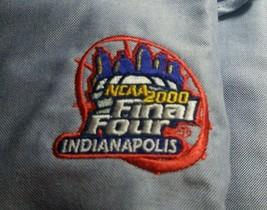 Men NCAA 2000 Final Four Playoffs Basketball Gear Blue LS Button-down Sh... - $20.00