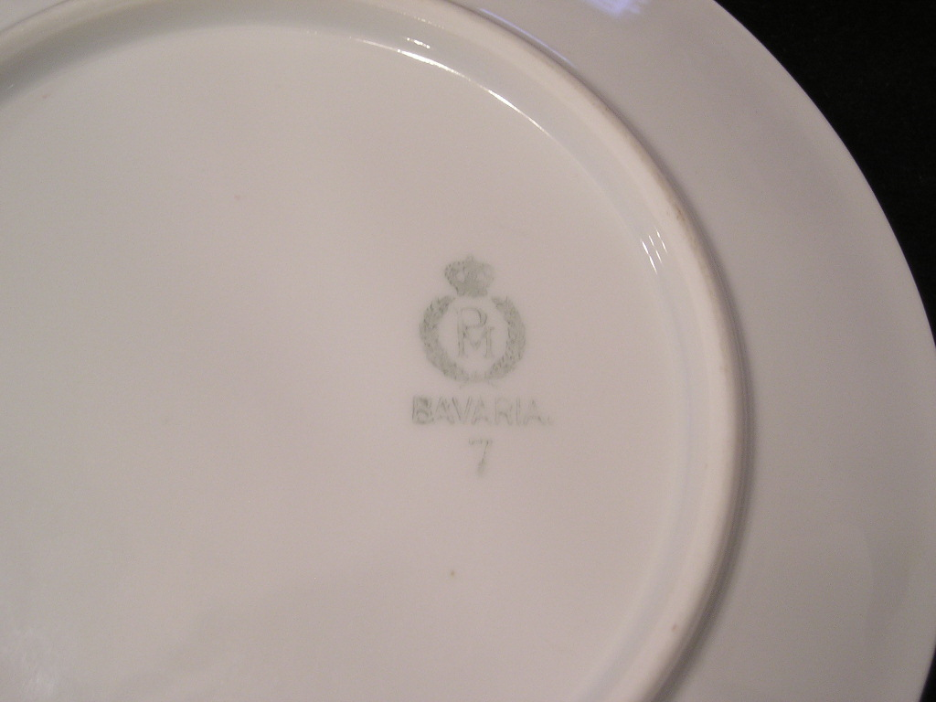 PM Bavaria Bread Plate