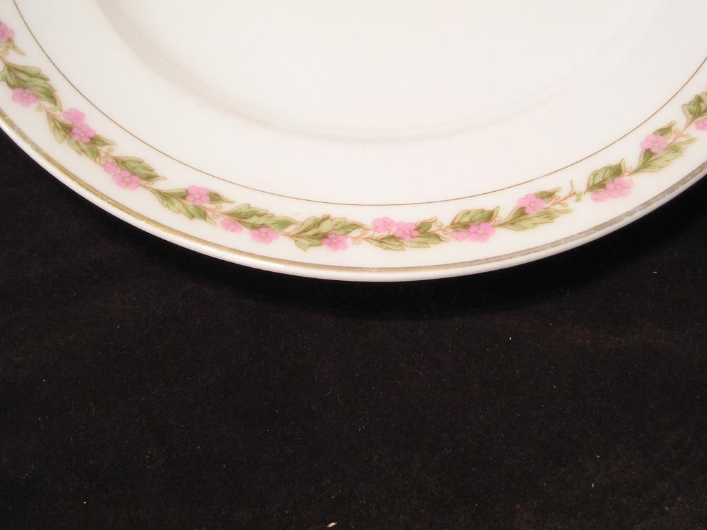 Bassett Limoges Austria Salad Plate