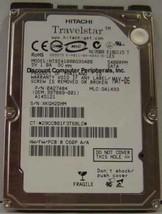 """NEW 80GB Hitachi HTS541080G9SA00 SATA 2.5"""" 9.5MM hard drive Free USA Shipping"""
