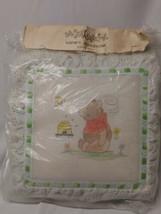 Needlepoint Pillow Kit With Yarn Instructions Nursery Bear  - $29.69