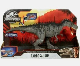 NEW SEALED 2020 Jurassic World Primal Attack Tarbosaurus Action Figure - $59.39