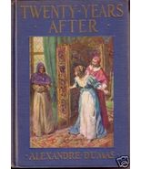 TWENTY YEARS AFTER Alexandre Dumas HC 1935 - $10.00