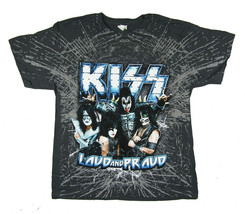 Kiss-Loud and Proud 2012 Tour-Gray T-shirt - $24.99