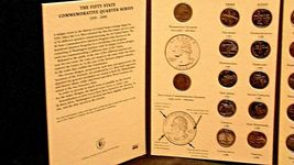 Hard Cover The 50 States Commemorative Quarters Series 1999-2008 AA20-CNQ7021 image 3
