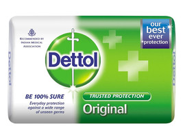 Dettol Original Soap - 75 gms (Pack of 3) - $9.90