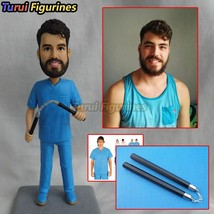 Polymer clay figurines custom Gay wedding cake topper personalized Custo... - $88.00