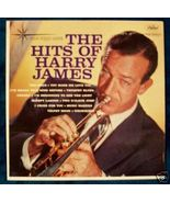 """ THE HITS OF HARRY JAMES "" Vintage Jazz LP - $6.00"