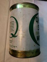 Vintage Quaker State Super Blend Motor Oil, Original Tin Can, Empty  image 4