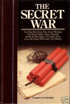 """ THE SECRET WAR "" Complete 4 Books 1983 Hc/Dj"