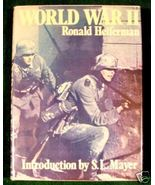 WORLD WAR II ** Folio-sized pictoral HC/DJ ** - $15.00