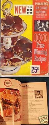 PILLSBURY 1953 Cook Book 100 Prize Winning Recipes