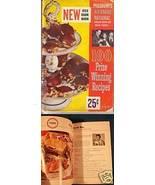 PILLSBURY 1953 Cook Book 100 Prize Winning Recipes - $6.00