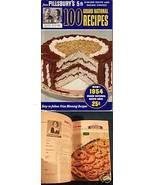 PILLSBURY 1954 Cook Book 100 Prize Winning Recipes - $6.00