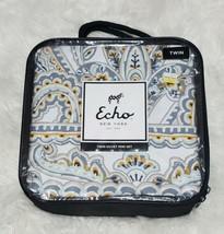 NEW Echo Design Venus Multi Colored Reversible Cotton Twin Duvet Mini Set - $39.18