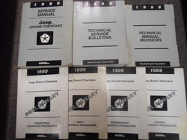 1999 Jeep Grand Cherokee Service Repair Shop Manual Huge Set Factory X Oem Books - $193.05
