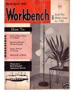 WORKBENCH *** 1958 Mar Vintage Magazine - $5.00