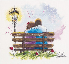 Counted Cross Stitch Hand Embroidery Kit Date - $12.55