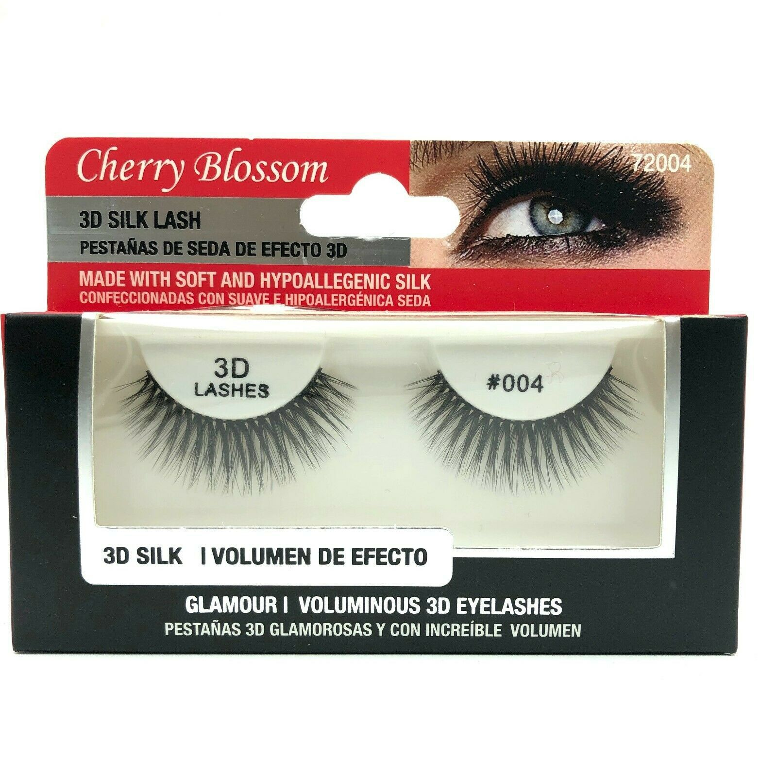 Primary image for CHERRY BLOSSOM SOFT AND DURABLE 3D VOLUME MINK LASHES #72004