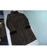 INC International Concepts VERY NICE Brown Fur Coat/Shrug (SZ small) - $20.00