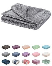 Fuzzy Blanket or Fluffy Blanket for Baby Soft Warm Cozy Coral Fleece Tod... - $14.87