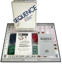 Sequence Board Game 1995 JAX 8002 - £8.71 GBP