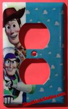 Toy Story Woody Buzz Lightyear Light Switch Power Outlet Wall Cover Plate Decor image 3