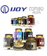 AUTHENTIC IJOY COMBO 25mm RDA | Rainbow | Red | Gunmetal | Ultem - $26.95