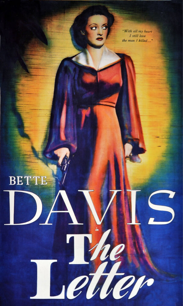 2625. Bette Davis The Letter Movie Art Decoration POSTER. Home Graphic Design. image 1